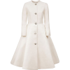 Esme Vie Flower Pearl Silk Coat - Jaquetas e casacos -