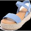 Espadrille Wedge Sandals - 坡跟鞋 - $29.99  ~ ¥200.94