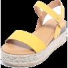 Espadrille Wedge Sandals - Plutarice - $29.99  ~ 190,51kn