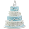 Eternal Embrace Wedding Cake - Uncategorized -