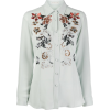 Etro Embroidered Floral Shirt - Farfetch - Camisas manga larga -