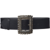 Etro Oversized Buckle Leather Belt - Remenje -