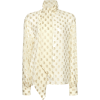 Etro Pussy-Bow Cotton Printed Blouse - Long sleeves shirts -