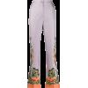 Etro paisley print trousers - Capri & Cropped -