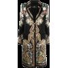 Etro satin paisley-print coat - Jacket - coats -
