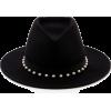 Eugenia Kim Blaine Peal Embellished Blac - Hat -