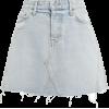 Eva Light Blue Denim Skirt - Skirts -