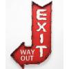Exit sign - Textos -