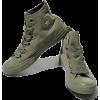 Eyelets Hi Top Sneaker  - Sneakers -