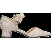 FABRIZIO VITI neutral jacquard shoe - Classic shoes & Pumps -