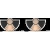 FAIRFAX & ROBERTS 18kt rose & 18kt white - Earrings -