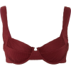 FELLA burgundy bikini top - Kupaći kostimi -