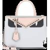 FENDI 2Jours Petite leather tote - Hand bag -