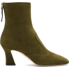 FENDI  FFreedom square-toe suede boots - Čizme -
