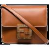 FENDI Fab crystal logo box bag - ハンドバッグ -