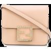 FENDI Fab crystal logo box bag - Torbice -
