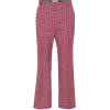 FENDI Houndstooth virgin wool pants - Capri & Cropped -