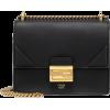 FENDI Kan U Small leather shoulder bag - Borsette -
