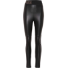 FENDI Leather pants - Leggings -
