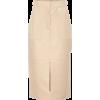 FENDI Leather pencil skirt - スカート - 2,300.00€  ~ ¥301,392