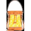 FENDI Mon Tresor PVC bucket bag - Messaggero borse - $1,185.00  ~ 1,017.78€