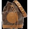 FENDIMon Trésor large printed coated-can - Hand bag -