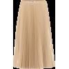 FENDI Pleated nylon midi skirt - Skirts -
