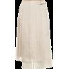 FENDI Pleated silk midi skirt - Faldas -