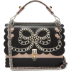 FENDI Sac porté épaule en cuir à broderi - Bolsas pequenas -