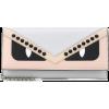 FENDI Wallet On Chain leather shoulder b - Wallets -