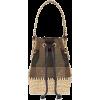 FENDI brown straw bag - Borsette -