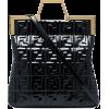 FENDI logo patent-leather tote bag - Carteras -