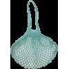 FILT - LARGE NET BAG - AQUA BLUE - Hand bag -