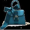 FLAP FRONT RIBBON DETAIL HANDBAGS 1 - Hand bag - $37.97