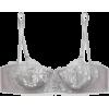 FLEUR DU MAL Violet metallic appliquéd s - Underwear -