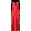 FLEUR DU MAL cowl neck dress in red - Dresses -