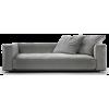 FLEXFORM grey sofa - Furniture -