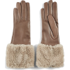FLORIANA GLOVES light brown leather - Gloves -