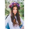 FLOWER HAIR CROWN - People -