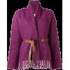 FORTE FORTE belted fringe cardigan - Cárdigan - $855.00  ~ 734.35€