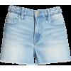 FRAME Le Cutoff Braid Waist Denim Shorts - Shorts -
