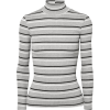 FRAME Striped ribbed-knit sweater - Long sleeves shirts -