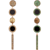 FRANCESCA VILLA Tom Thumb Mismatched Sap - Earrings -
