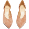 FRANCESCO RUSSO Point-toe suede pumps - Zapatos clásicos -