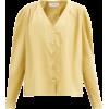 FRANÇOISE Puffed-shoulder cotton-poplin - Camicie (lunghe) -