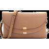 FRONT FLAP CROSSBODY BAG-STONE - Hand bag - $30.00
