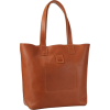 FRYE Stitch Smooth Full Grain Tote Cognac - Torbe - $288.00  ~ 247.36€