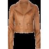 FULL TILT Biker Womens Jacket Camel - Jacket - coats - $29.99