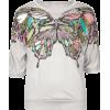 FULL TILT Butterfly Print Girls Top Light Grey - Top - $16.99  ~ 14.59€