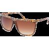FULL TILT Rhinestone Flat Top Sunglasses Tortoise - Sunglasses - $9.99